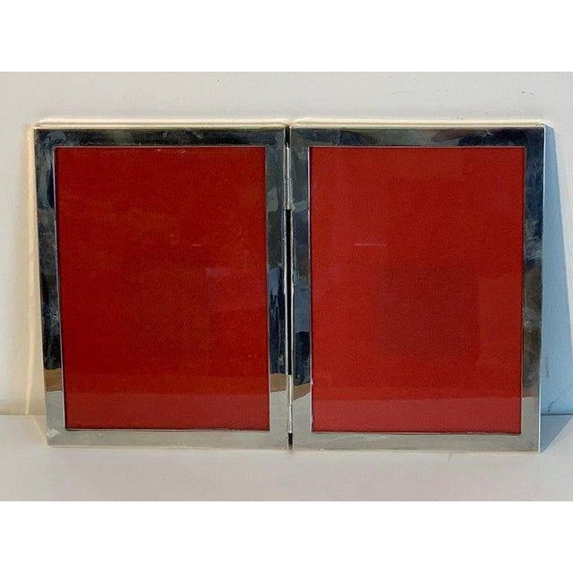 Mid 20th Century Sterling Modern Double Folding Frame, Handmade For Sale - Image 5 of 13