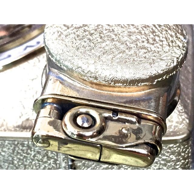 Vintage Gold Music Box Cig Holder & Lighter - Image 10 of 11