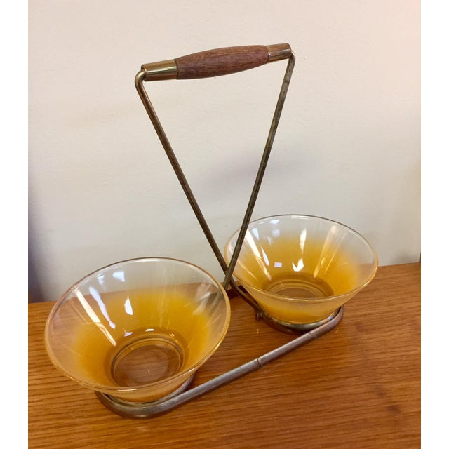 Mid-Century Modern Petite Bowl Serving Set For Sale - Image 9 of 9