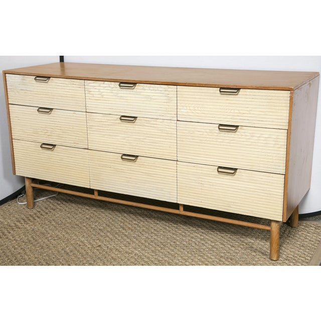 Mid-Century 9-drawer dresser by Raymond Loewy for Mengel Furniture. Dated 1950-1969 Louisville, KY. Has minor wear on...