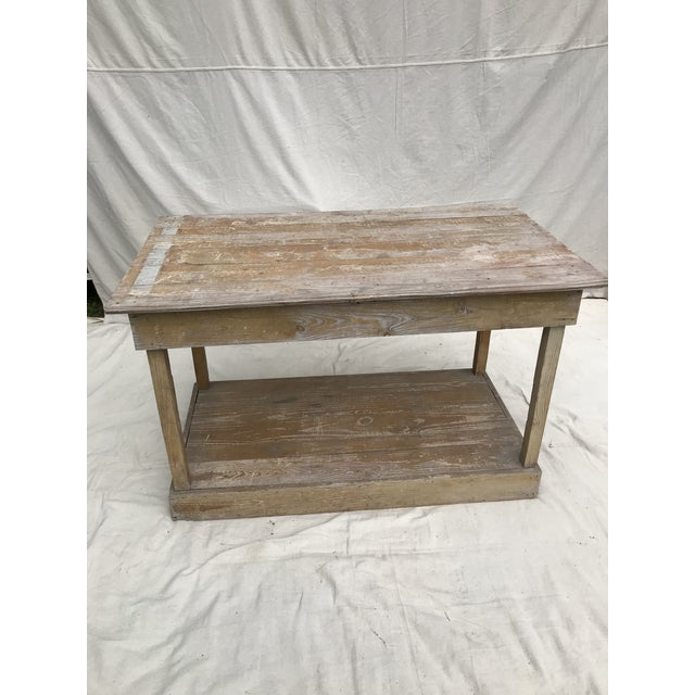Antique Southern Primitive Work Tables - a Pair For Sale - Image 9 of 13