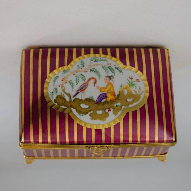 Atelier LeTallec Laque de Chine Porcelain Box For Sale - Image 4 of 12