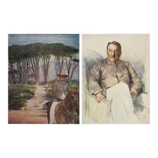 """1901 M. Menpes """"Cecil Rhodes"""" Photographs - S/2"""
