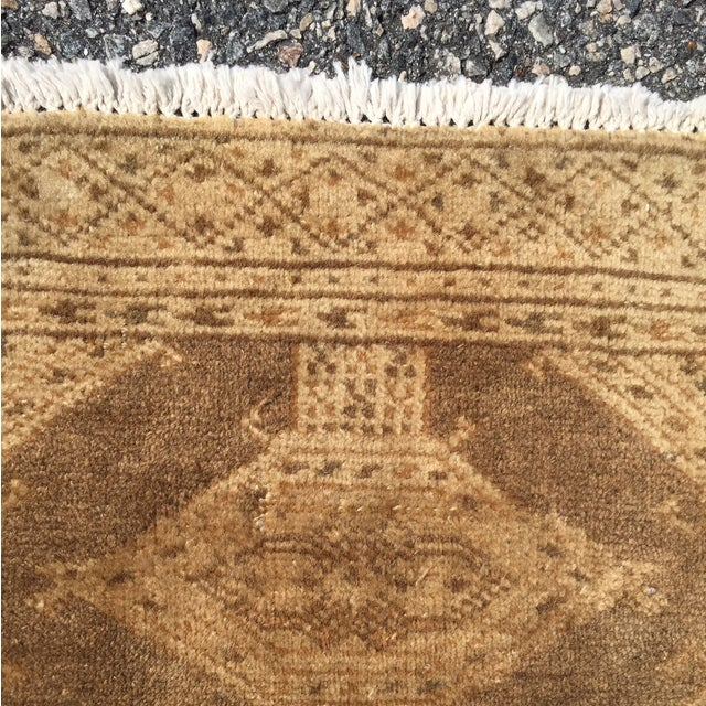 "Vintage Turkaman Persian Rug - 1'11"" x 2'9"" - Image 6 of 10"