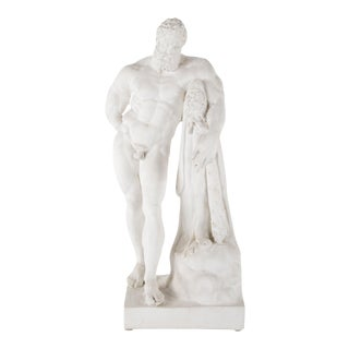 Cast Plaster Reproduction of Hercules by Farnese For Sale