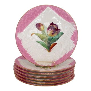 Hand-Painted Wall Plates - Set of 7