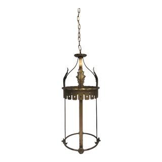 Antique French Decorative Lantern For Sale