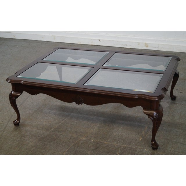 Ethan Allen Georgian Court Coffee Table For Sale - Image 9 of 10