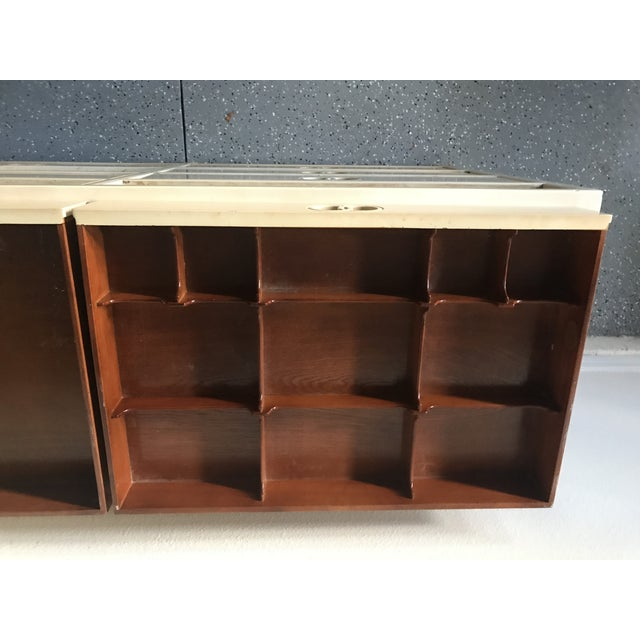 Baker Furniture Company 1960s Traditional Michael Taylor for Baker Furniture Wood Chest of Drawers For Sale - Image 4 of 8