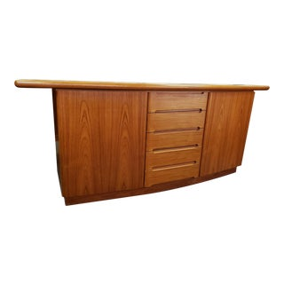 1960s Vintage Skovby Danish Modern Teak Sideboard For Sale