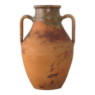 Turkish Rustic Terracotta Jar