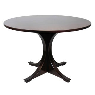 Sculptural Rosewood Centre Table For Sale