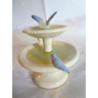 Lenox Blue Birds in Fountain Bird Bath Figurine Preview