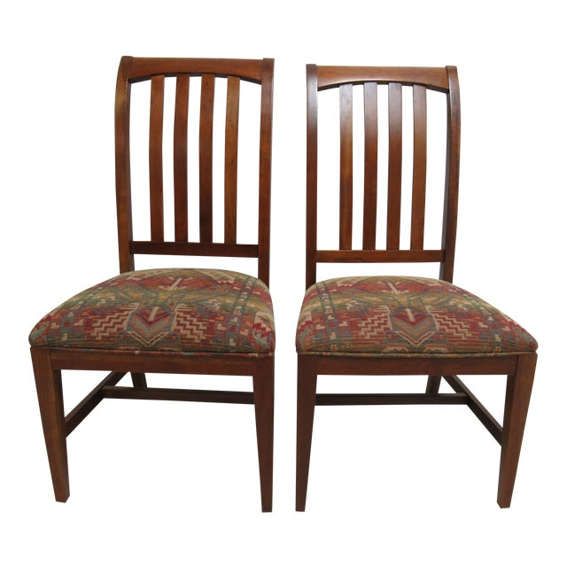 Ethan Allen Mission American Impressions Cherry Dining Chair Chairish