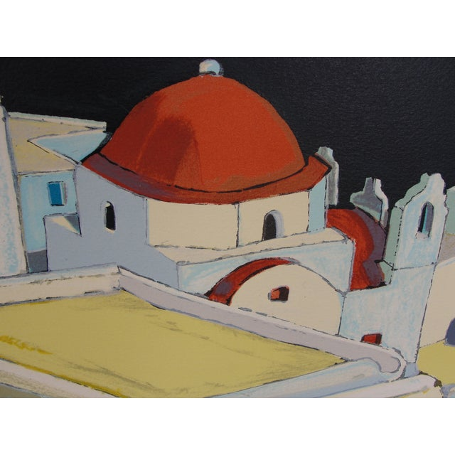 Mediterranean Cityscape Print - Image 5 of 8