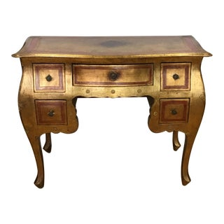 Italian Florentine Writing Desk