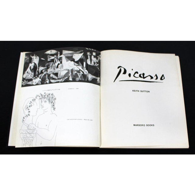 Cubism Mid-Century Modern Picasso Art Book by Keith Sutton, 1962 For Sale - Image 3 of 8