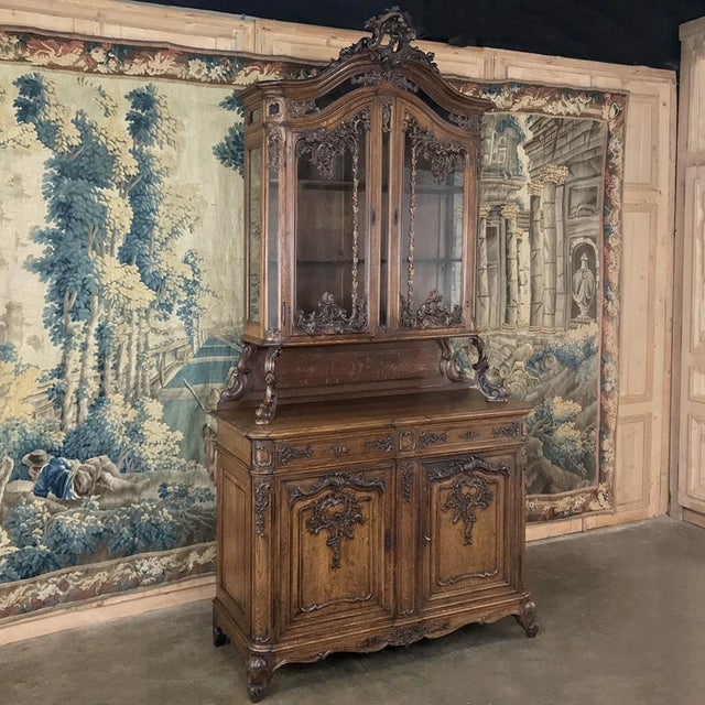 Louis XIV 19th Century Liegeois China Buffet For Sale - Image 3 of 13