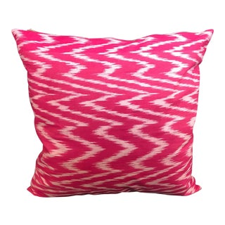 Contemporary Raspberry Red Pillow Cover For Sale
