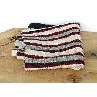Lee Smith Handwoven Navajo Wool Rug Runner Saddle Blanket Preview