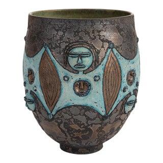 1970s Mary Edwin Scheier Ceramic Bowl For Sale