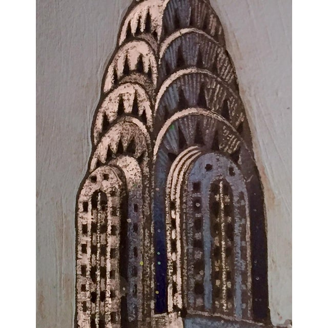 Chrysler Building Watercolor - Image 2 of 2