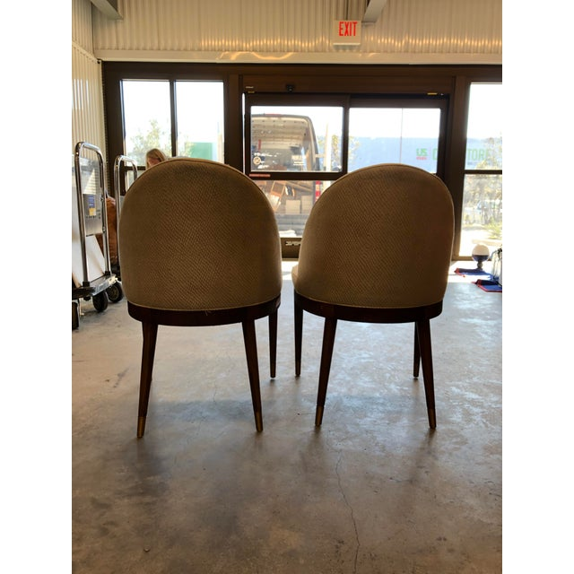 Modern Hickory Chair Lauren Dining Chairs- A Pair For Sale In Charleston - Image 6 of 9