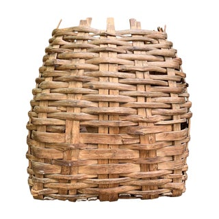 Large 19th Century American Nut Basket For Sale