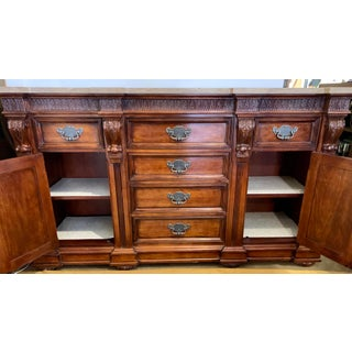 Marble Top Sideboard Credenza Dresser Preview