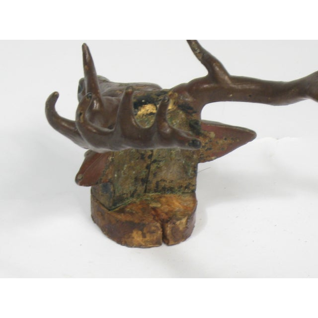 Antique Cast Iron Deer Hook - Image 6 of 6