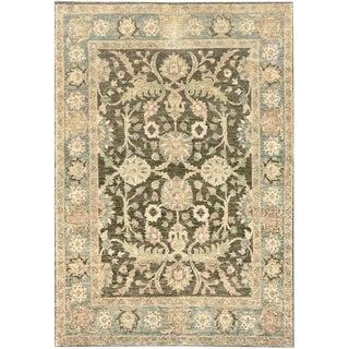 Mansour Fine Handmade Tabriz Rug - 5′1″ × 7′3″ For Sale