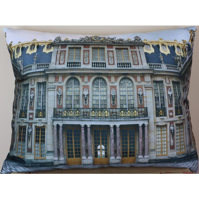 Versailles Rear Courtyard Photo Pillow For Sale - Image 11 of 12