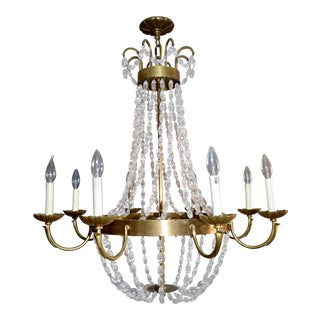 Hollywood Regency Visual Comfort Paris Flea Market Chandelier For Sale