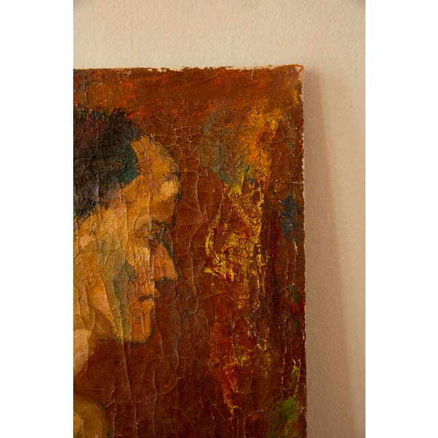 Antique Nude Oil Painting For Sale - Image 4 of 6