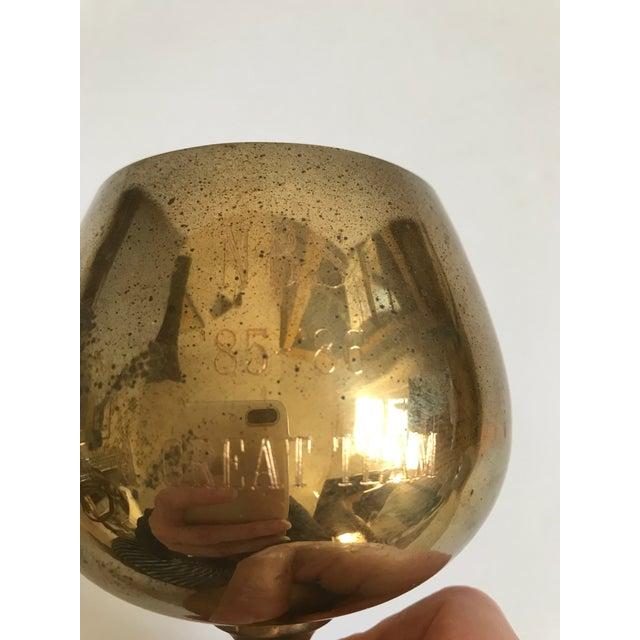 Vintage Brass Trophy Cup For Sale - Image 4 of 5