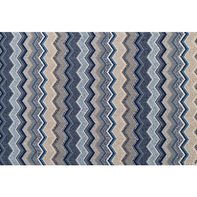 "Textile Stark Studio Rugs, Forlini, Cobalt , 2'6"" X 12' For Sale - Image 7 of 7"