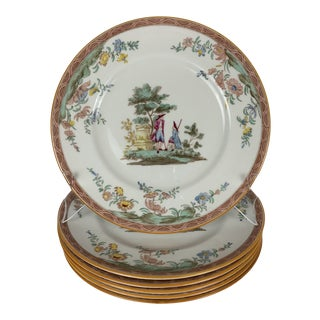 Royal Doulton for Tiffany & Co Dinner Plates - Set of 6 For Sale