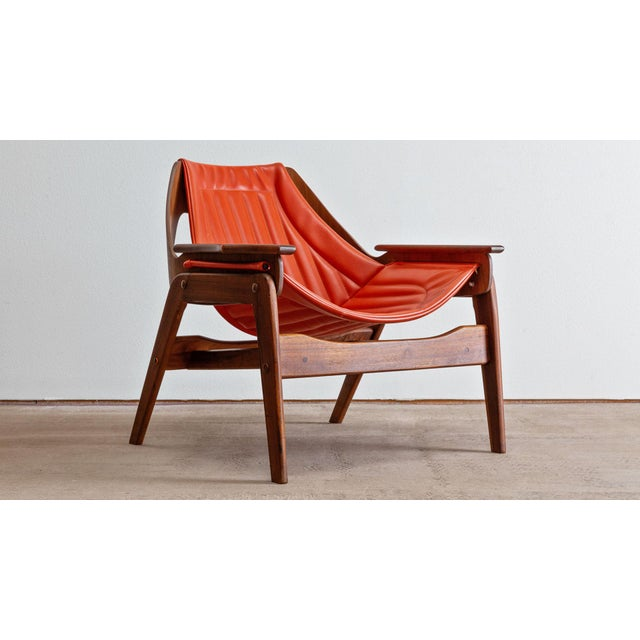 Mid Century Modern Jerry Johnson Triumph I Sling Chair For Sale - Image 9 of 9