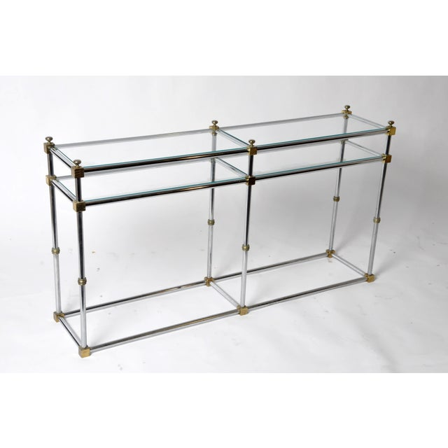Vintage French Console Table For Sale - Image 4 of 11