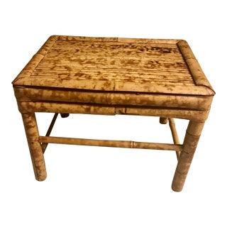 Vintage Handmade Bamboo Stool