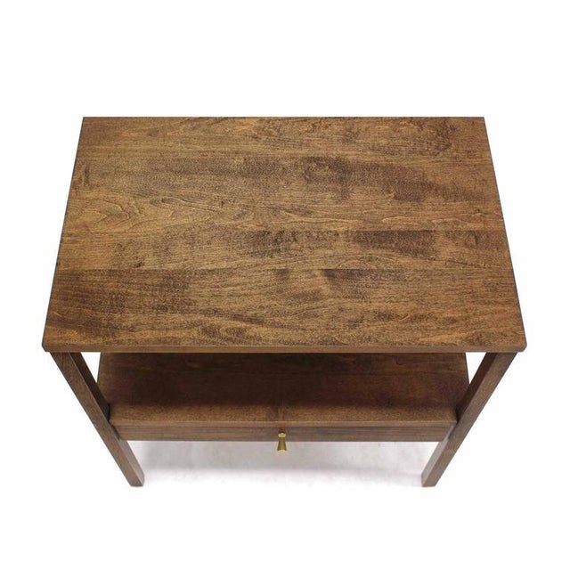 Paul McCobb Mid-Century Modern 1 One drawer End Table Stand For Sale - Image 4 of 6