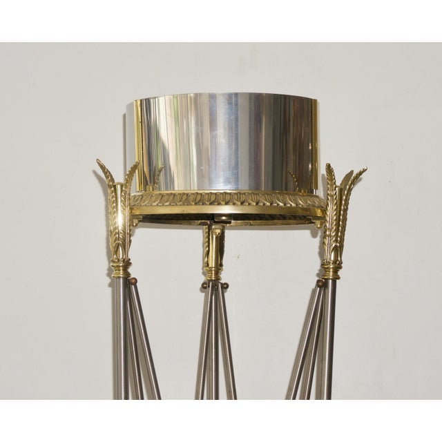 Hollywood Regency Jardinière Stand Pedestal by Maison Jansen For Sale - Image 3 of 12