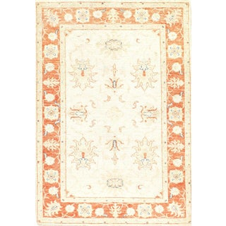 """Pasargad N Y Original Hand-Knotted Farahan Scatter Rug - 3'3"""" X 4'8"""""""