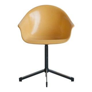 1960s Mid-Century Modern Fiberglass Office Chair