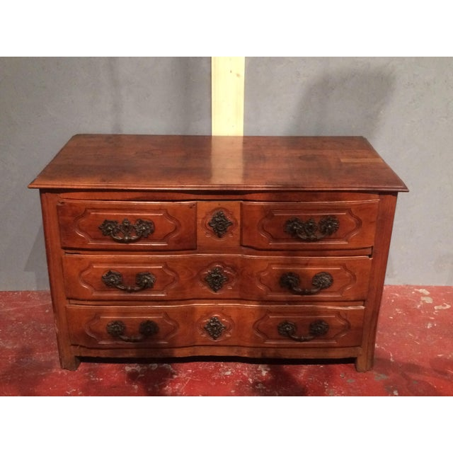 Louis XV Period Commode with Serpentine Front For Sale - Image 13 of 13