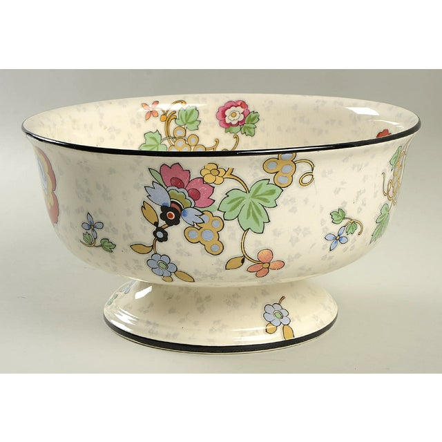 Crown Ducal Beaumont Footed Bowl For Sale - Image 9 of 9