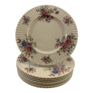 Vintage Lenox Victoria Salad Plates - Set of 8 For Sale