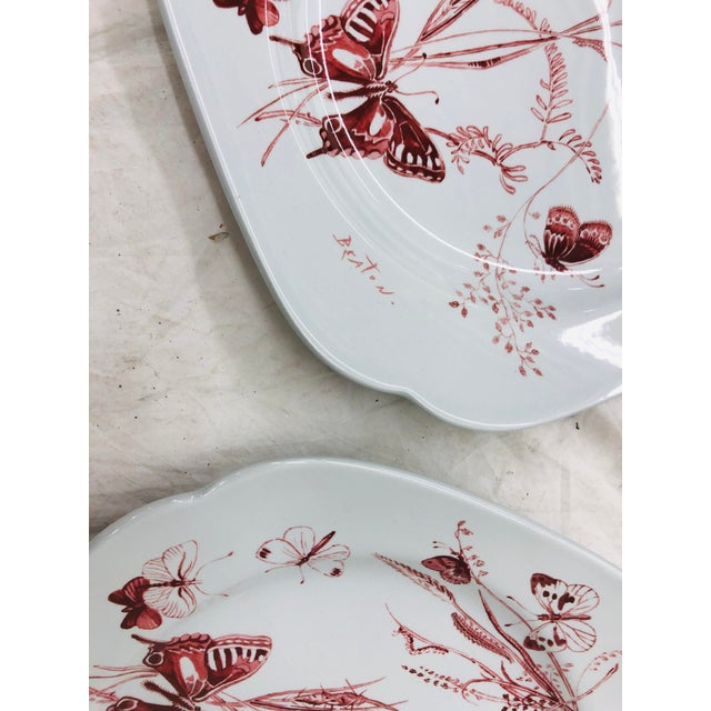 Spode Vintage Set Cecil Beaton Spode Plates For Sale - Image 4 of 7