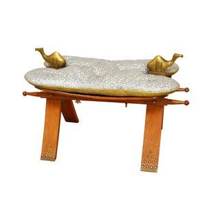 Egyptian Camel Saddle Stool