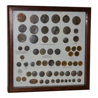 18th to 19th Century Button Collection For Sale